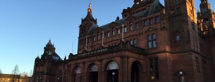 Kelvingrove Art Gallery and Museum is one of Europe 16.