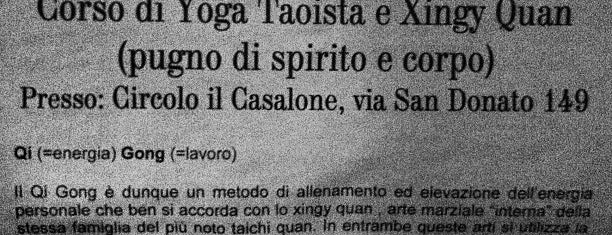 Casalone is one of San Donato.