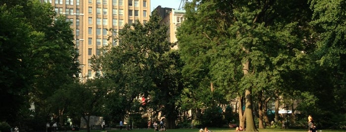 Madison Square Park is one of New York Places.