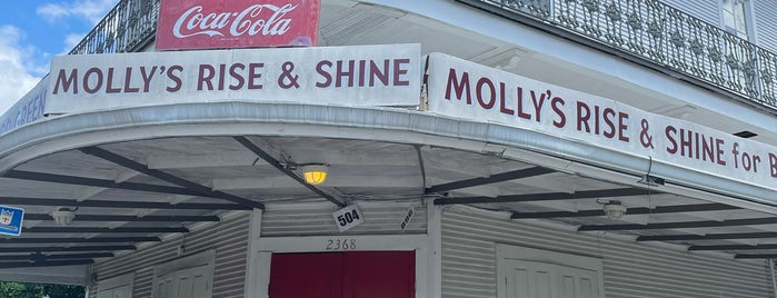 Molly's Rise and Shine is one of New Orleans - to try.