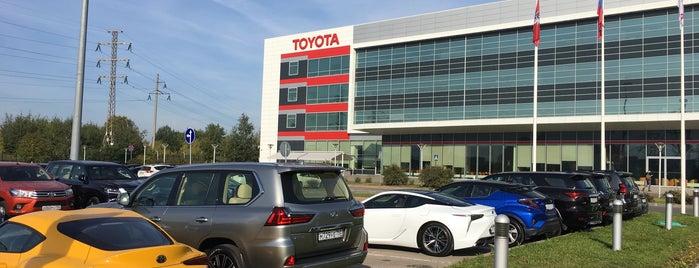 Toyota Motor Russia is one of Офисы, в которых можно подписаться на фрукты (ч.2).