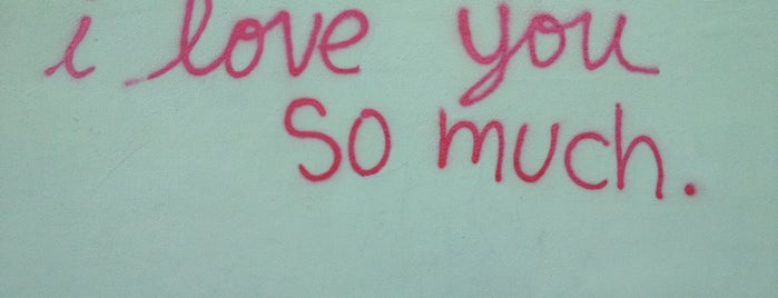 I Love You So Much Graffiti is one of Austin To-Do.