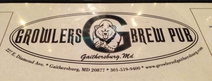 Growlers of Gaithersburg is one of Maryland Brewery Tour.