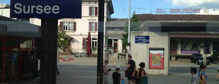 Bahnhof Sursee is one of schon gemacht 2.