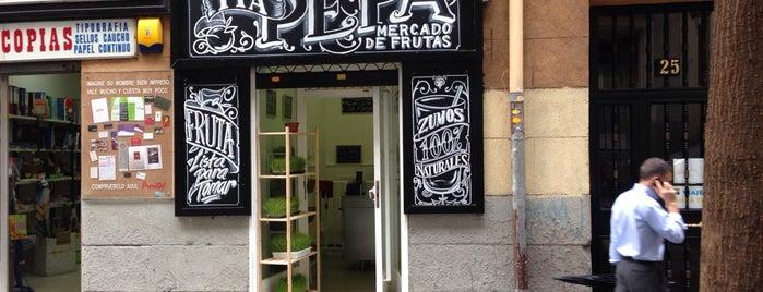 Tia Pepa Mercado De Frutas is one of Rotulados por rotulacionamano.com.
