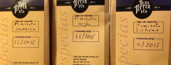 Black Pepper & Co is one of Madrid Malasaña/Chueca.