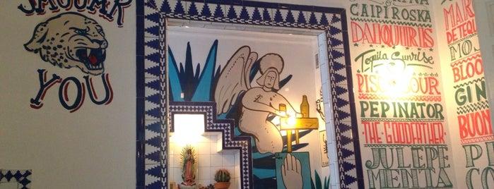 María Bonita Taco Bar is one of マドリード - 昼ごはん + 晩ごはん (ひるごはん + ばんごはん).