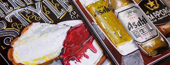 Monster Sushi is one of Rotulados por rotulacionamano.com.