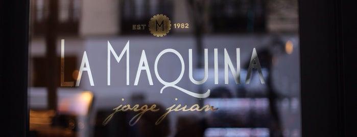 La Maquina Jorge Juan is one of Madrid.