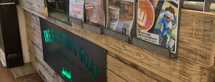 The Fainting Goat Coffee is one of สถานที่ที่ Dave ถูกใจ.