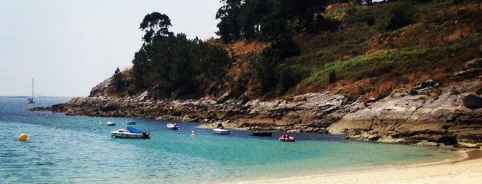 Praia de Liméns is one of Playas de España: Galicia.
