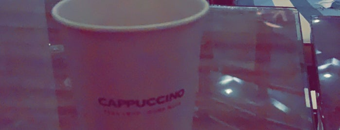 Cappuccino is one of สถานที่ที่ Nourah ถูกใจ.