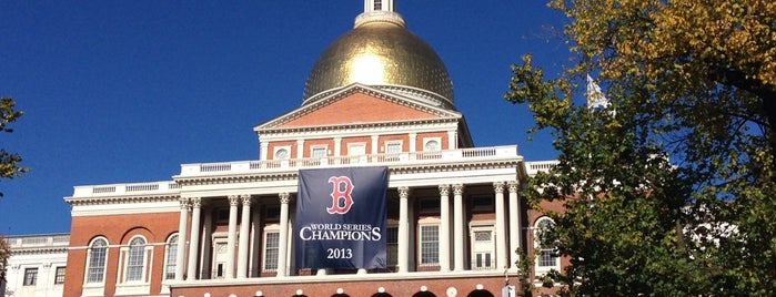 Massachusetts State House is one of #BeRevered: Best of Beacon Hill.