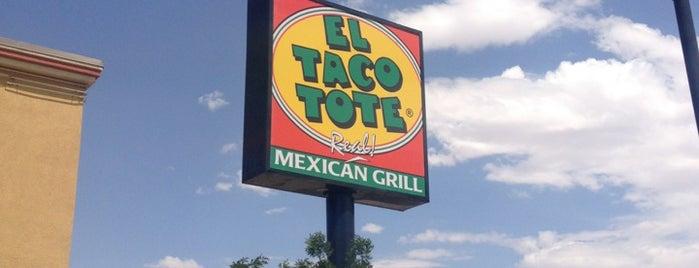 El Taco Tote is one of Lugares favoritos de Ricardo.