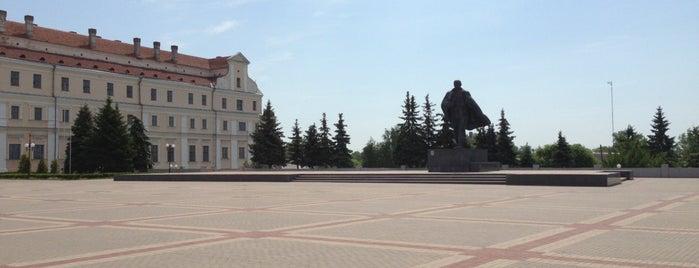 Площадь Ленина is one of Пинск.
