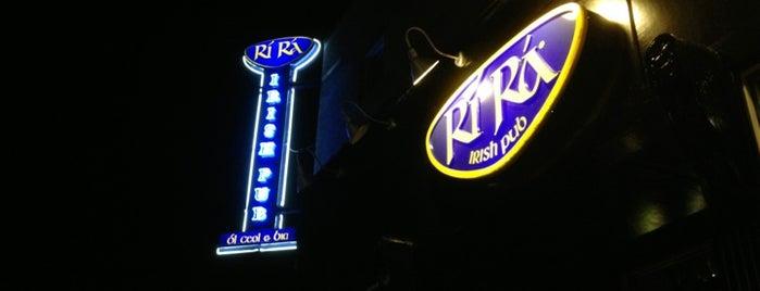 Ri Ra Irish Pub is one of Evansville, Indiana.