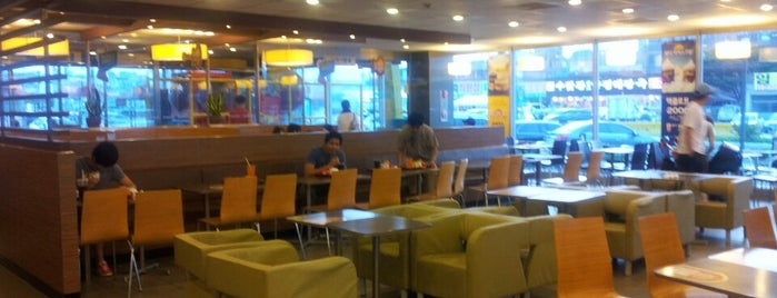 McDonald's is one of Lieux qui ont plu à Kyungwoo.