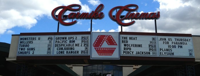 Carmike Cinemas is one of Annette'nin Beğendiği Mekanlar.