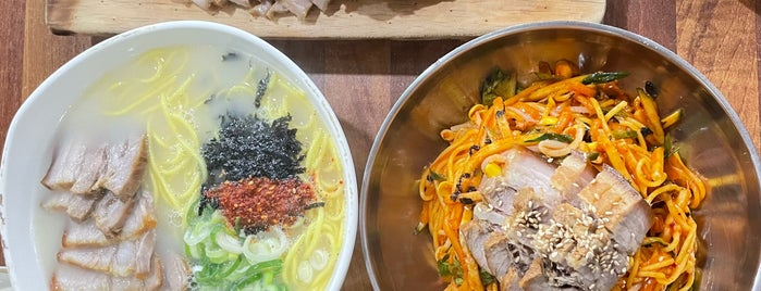 가시아방국수 is one of noodle.