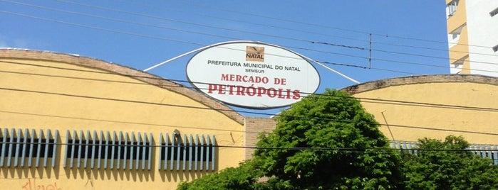 Mercado de Petrópolis is one of Aqui tem Wifi grátis - Natal/RN.