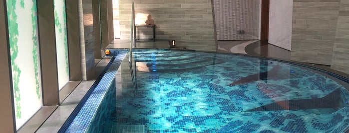 The Spa at the Mandarin Oriental is one of Dubai's must places.