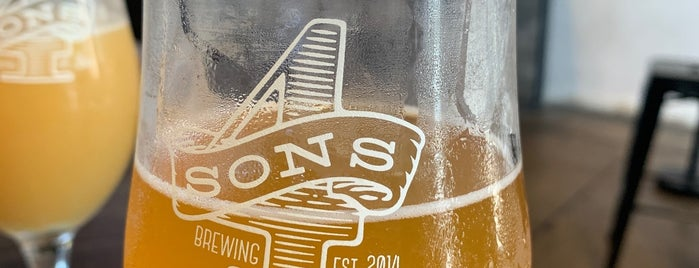 Four Sons Brewing is one of California Breweries 4.