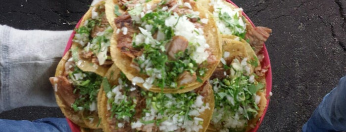 "Tacos ""El Super Taquito"" is one of Comida, pura comida!!!."