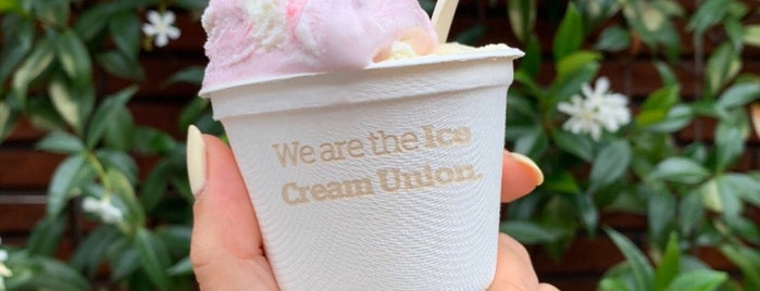 Ice Cream Union is one of Indian to try.