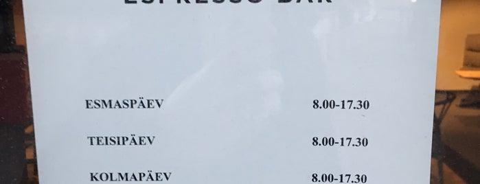 Björn Espresso Bar is one of World Coffee Shops.