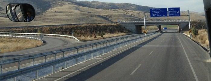 Denizli-Afyon Köprülü Kavşağı is one of Yücel: сохраненные места.