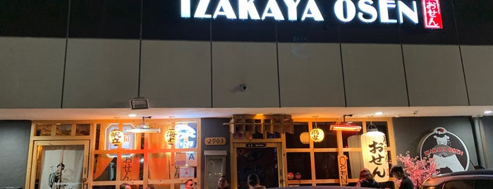 Osen Izakaya is one of LA.