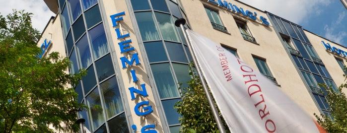 Fleming's Hotel München-Schwabing is one of Done List.