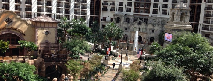 The Gaylord Texan is one of Dallas- Want to try.