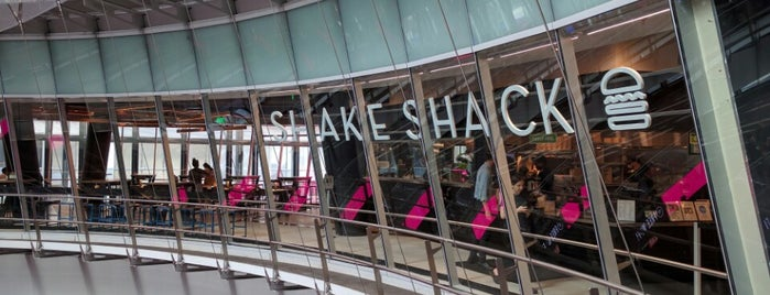 Shake Shack is one of places to try.