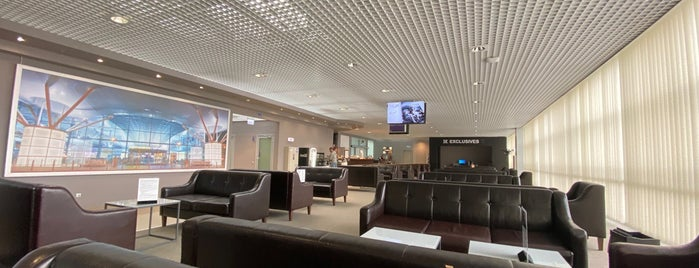 Mastercard Lounge Terminal F is one of Oleksandr : понравившиеся места.