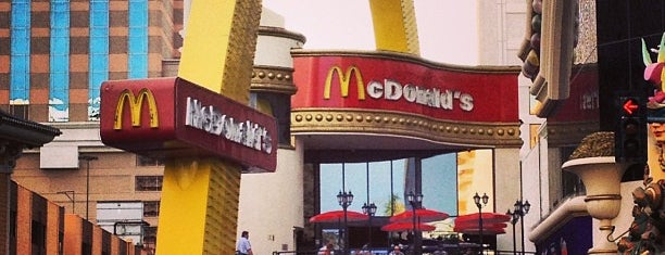 McDonald's is one of Las Vegas.