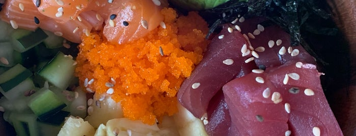 Ono Poke House is one of Food/Drink Favorites: Mexico City.