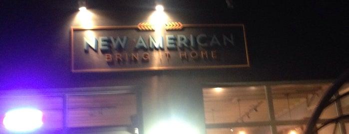 New American is one of Gespeicherte Orte von Maggie.