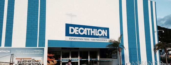 Decathlon is one of Florianópolis.