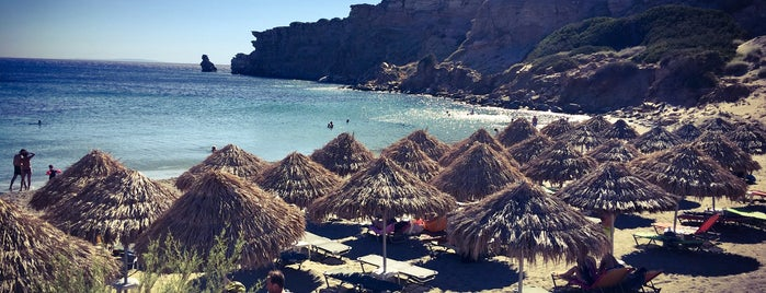 Triopetra Beach Gyrogiali is one of Locais curtidos por Tolis.