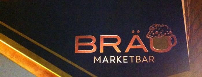 Bräu Marketbar is one of Locais salvos de ᴡ.