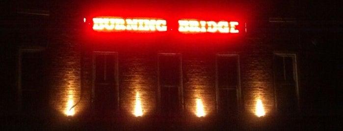 Burning Bridge Tavern is one of bars.