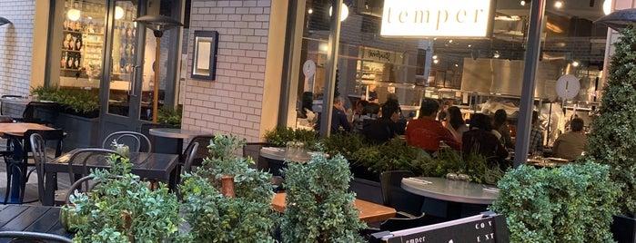 Temper Covent Garden is one of London restaurants.