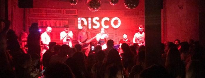 Disco is one of Lieux qui ont plu à Berna.