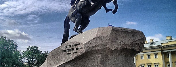 Bronze Horseman is one of Russia10.