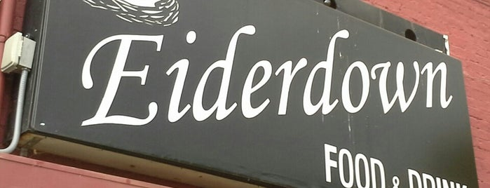 Eiderdown is one of Louisville.