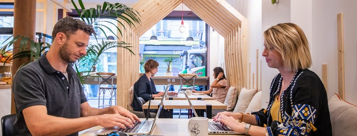 Hubsy | Café & Coworking is one of Paris 2018.