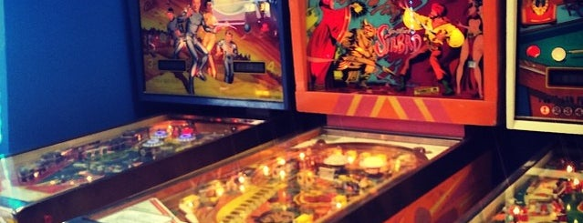 Pop Bumpers Pinball is one of Pinball Destinations.