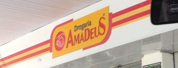 Drogaria Amadeus is one of ATM - Onde encontrar caixas eletrônicos.