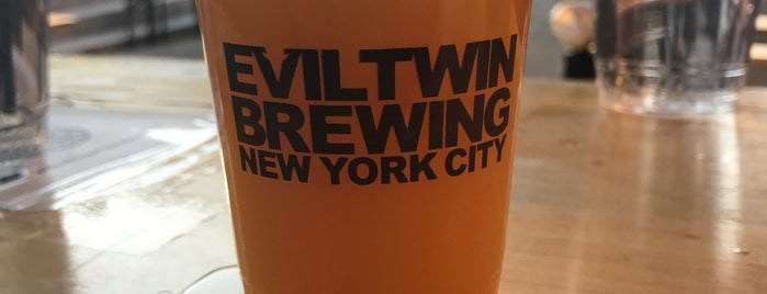Evil Twin Brewing NYC is one of Lieux qui ont plu à Nick.
